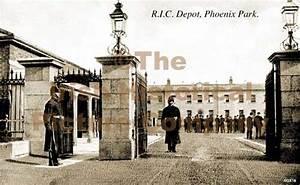 R I C Depot  Phoenix Park  Dublin  Ireland  Old Photograph  Qx