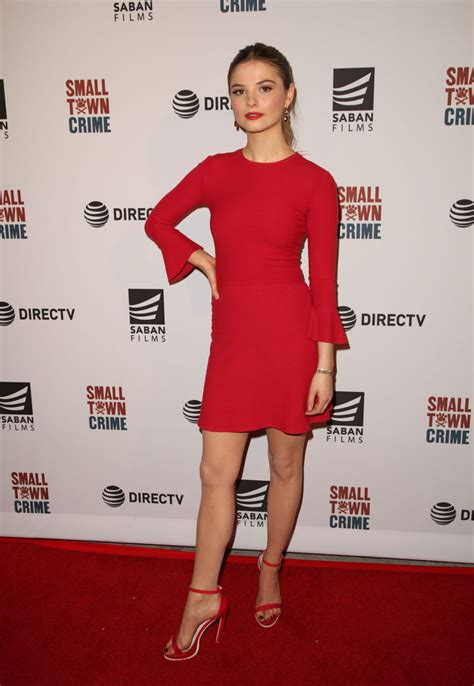 Stefanie Scott Small Town Crime Special Screening