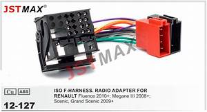Jstmax Iso F Harness Radio Adapter For Renault Fluence 2010   Megane Iii   Scenic  Wiring