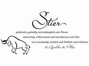 16 April Sternzeichen : wandtattoo sternzeichen stier sternzeichen als wandtattoo ~ Bigdaddyawards.com Haus und Dekorationen