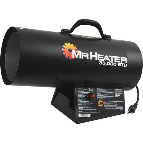 Mr Heater Portable Propane Forced Air Heater — 35,000 Btu