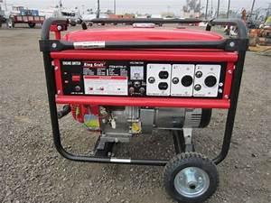 King Craft 6 000 Watt Generator