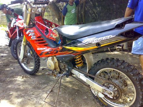 Modif Suzuki Smash 2005 by Suzuki Smash Modifikasi Trail Thecitycyclist