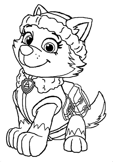 Top 10 PAW Patrol Coloring Pages Of 2017 Tegninger