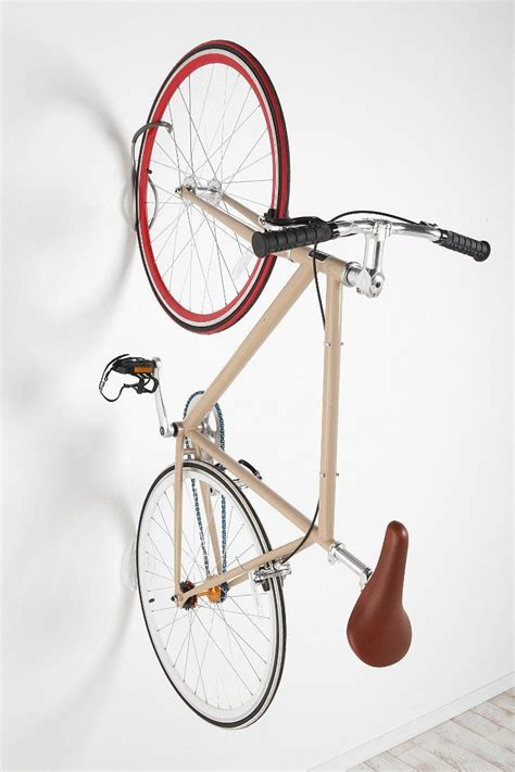 Bike Storage Hook & Tire Tray  For The Home Pinterest