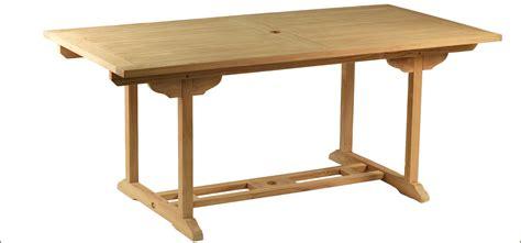 si鑒e de table 360 table en teck rectangulaire tahiti jardideal fr