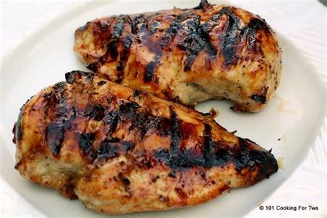 temp for boneless chicken breast honey crusted grilled skinless boneless chicken breast 101 cooking for two