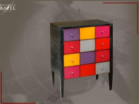duvivier canape commode multicolore réf 752nb cerezo