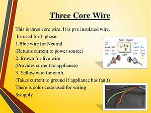 Wire Color Guide For Neutral Ground And Live