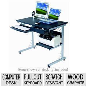 sharper image computer desk buy the sharper image wood computer desk at tigerdirect ca