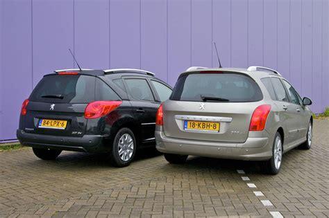 amazing peugeot 207 sw dubbeltest peugeot 207 sw peugeot 308 sw autoweek nl