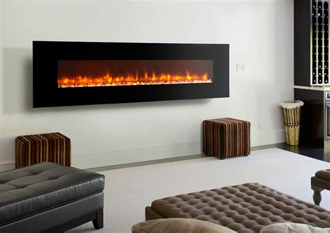 Wall Mounted Electric Fireplace Fireplaces ? The Home
