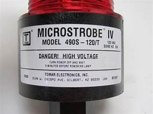 Tomar Microstrobe Iv Model 490s 60hz Strobe