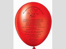 Individuelle und originelle Einladungen mit Einladungsballons