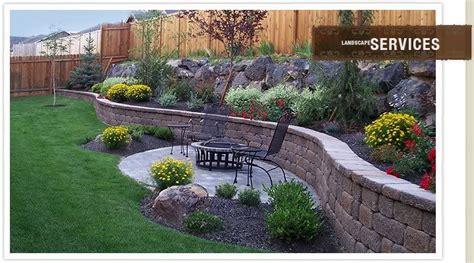 backyard retaining wall retaining wall garden back 40 redesign pinterest