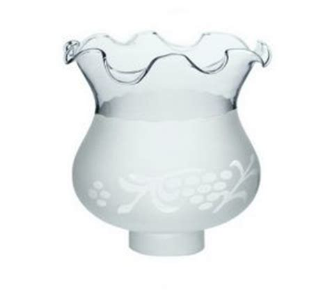 colonial hurricane frosted grapes light shade lighting
