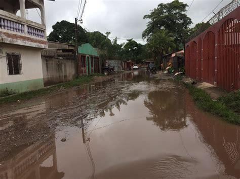 rain  flooding  juticalpa olancho aid foundation