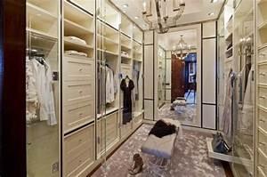 Banc Pour Dressing : dressing banc rangement idee placard ideeco ~ Teatrodelosmanantiales.com Idées de Décoration