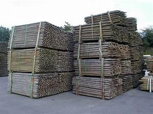 Piquet De Cloture Bois Acacia : piquets en bois pour l 39 agriculture piquets de vigne ou ~ Dailycaller-alerts.com Idées de Décoration
