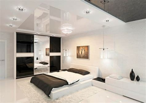 schlafzimmer le modern d 233 co noir et blanc chambre 224 coucher 25 exemples 233 l 233 gants