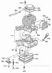 Robin  Subaru Eh035 Parts Diagram For Crankcase Parts