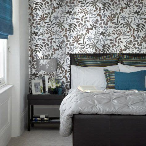 modern bedroom wallpaper  accent wall decorate