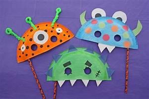 Basteln Halloween Mit Kindern : halloween masken basteln f r gro und klein ~ Yasmunasinghe.com Haus und Dekorationen
