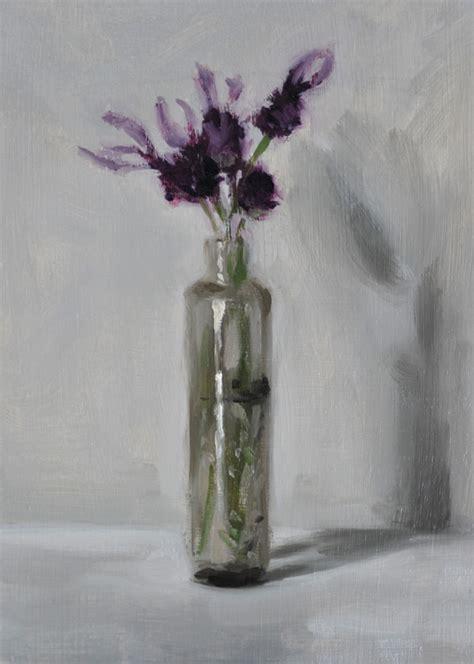 lavender    glass bottle helen davison bradley