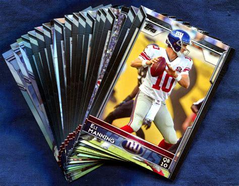 2015 Topps New York Giants NFL Football Card Team Set
