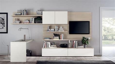 meuble tv bureau unités murales polyvalentes pour éfinir la salle de séjour