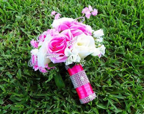 Hot Pink Wedding Bouquet, Heirloom Bouquet, Wedding Bridal