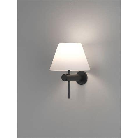 astro lighting roma single light bathroom wall fitting in