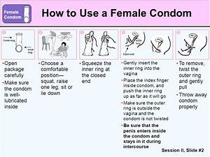 Session II: Who Can and Cannot Use the Female Condom - ppt ...