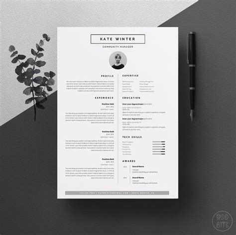 Resume Layout Design by 25 Best Ideas About Cv Template On Layout Cv