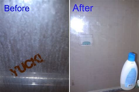 Best Ways To Clean Shower by How To Clean Soap Scum From Glass Shower Doors