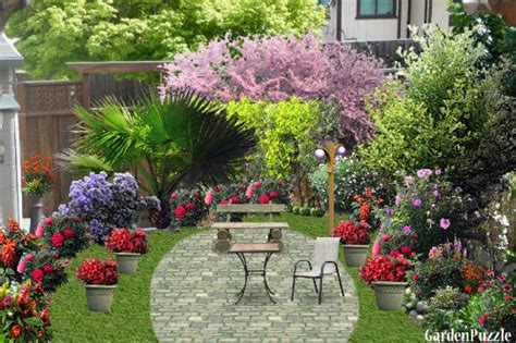 corner gardenpuzzle garden planning tool
