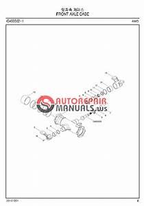 Ls Tractor G3033  G3038 Parts Manual