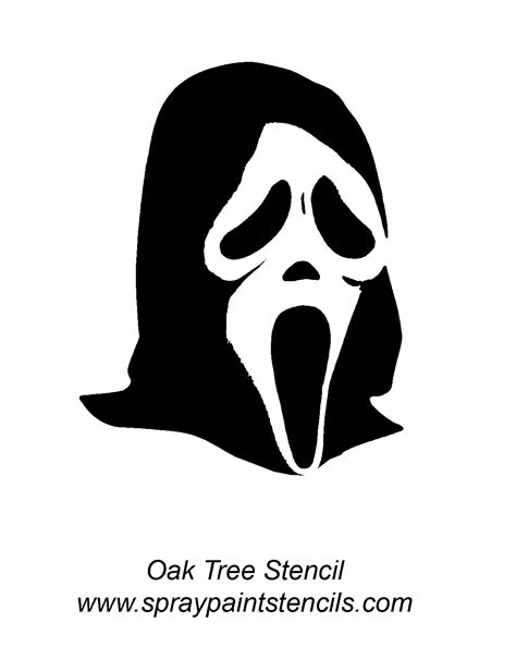 Scream Pumpkin Template by Stencil Requests For November 2007