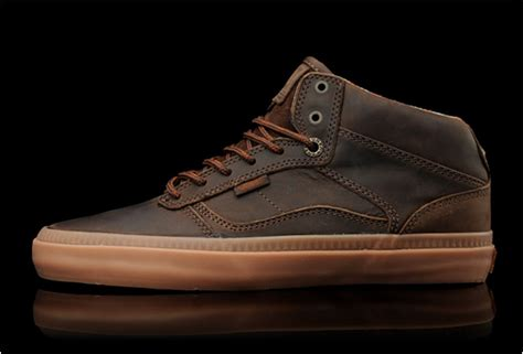 vans otw leather bedford brown gum