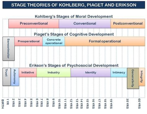 eriksons developmental stages  graphic stages