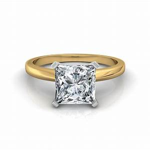 classic princess cut diamond engagement ring With wedding rings classic