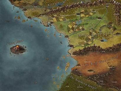 Map Region Fantasy Maps Ivan Commission