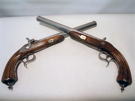 french dueling pistols early  century megadeluxe