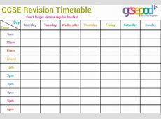 Download Timetable Templates for Free FormTemplate