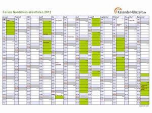 Ferien Nrw 2018 19 : ferien nordrhein westfalen 2012 ferienkalender zum ausdrucken ~ Buech-reservation.com Haus und Dekorationen