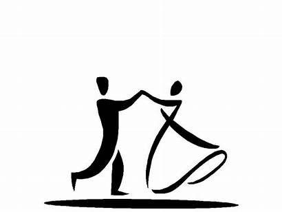 Silhouette Dancing Dancers Gifs Animated Easy Painting