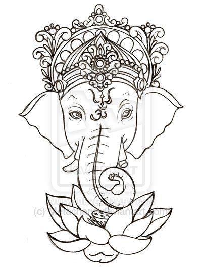 lotus tattoo stencils designs