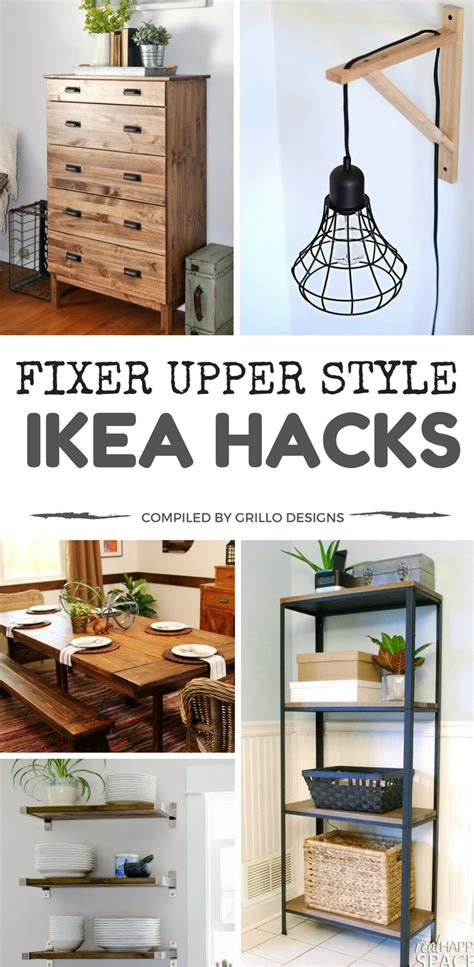 15 ikea hacks to add fixer style to your home