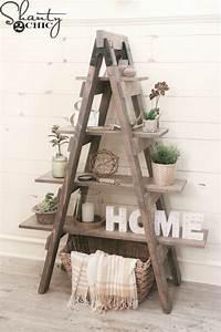 fine diy ladder bookshelf DIY Furniture and Home Decor Tutorials - The 36th AVENUE