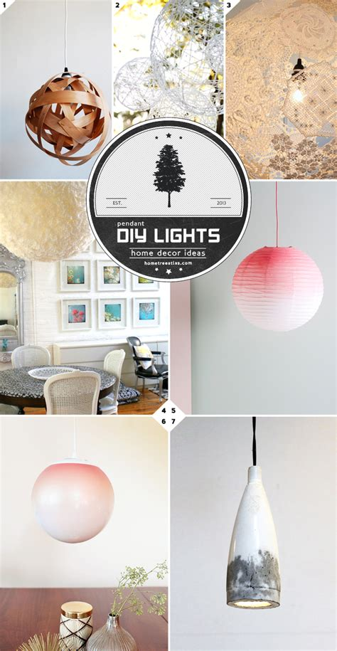 diy pendant light ideas from paper lanterns to concrete
